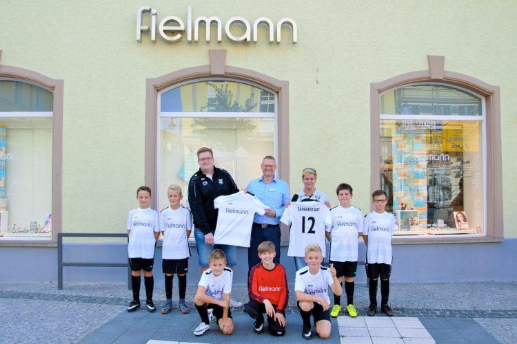 Große Freude bei den E-Junioren  der SpG Sängerstadtregion
