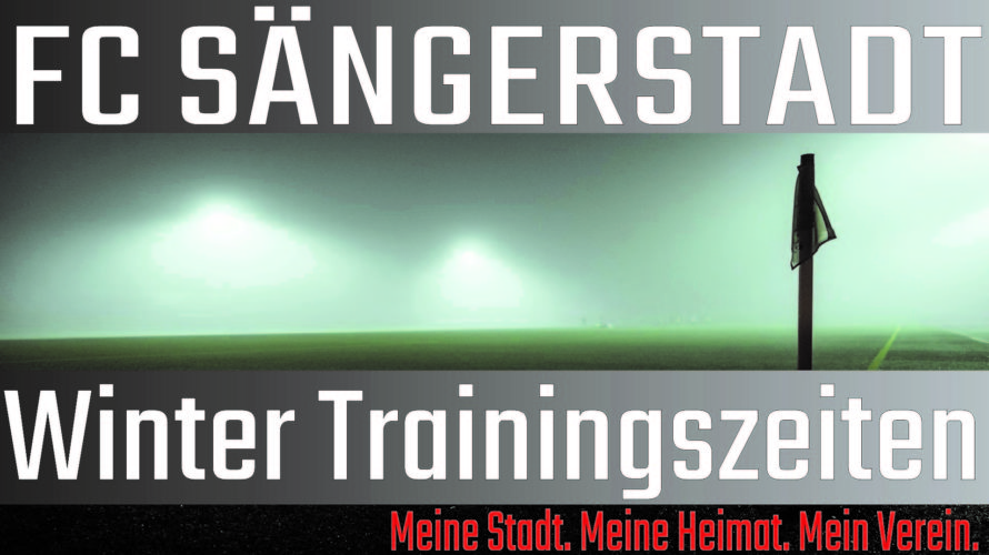 Winter Trainingszeiten
