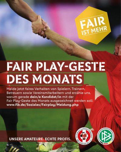 Fair-Play-Geste des Monats Dezember 2018