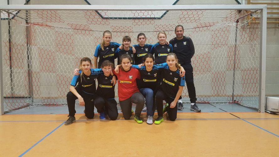 SpG Sängerstadtregion Mädchen belegen 5. Platz am 16.2.2019 beim Traditionsturnier der C Juniorinnen der Spvgg Dresden Löbtau