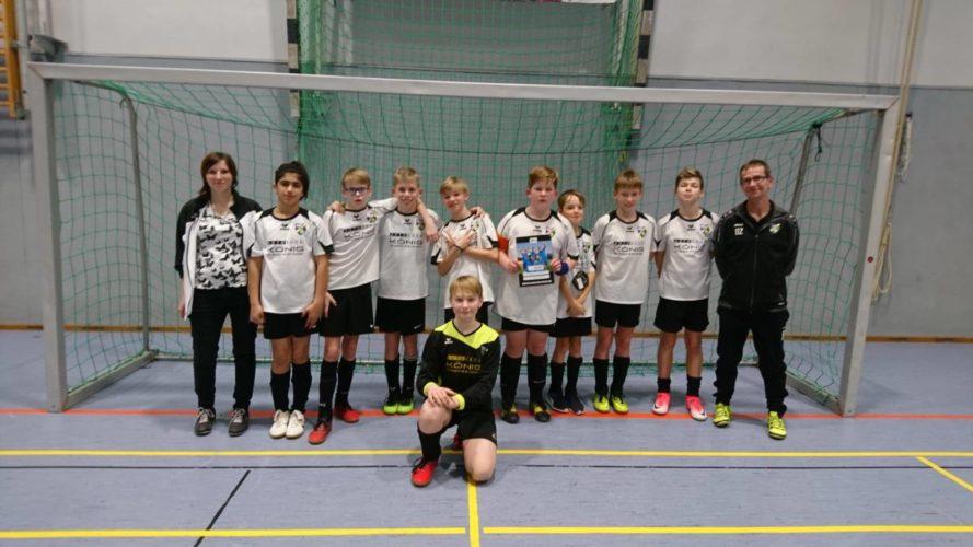 D-Junioren beim Hallenturnier des FSV Rot-Weiß Luckau