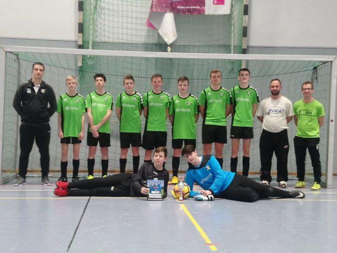 C-Junioren belegten 2.Platz und stellen den Besten Torschützen beim Luckauer Hallenturnier