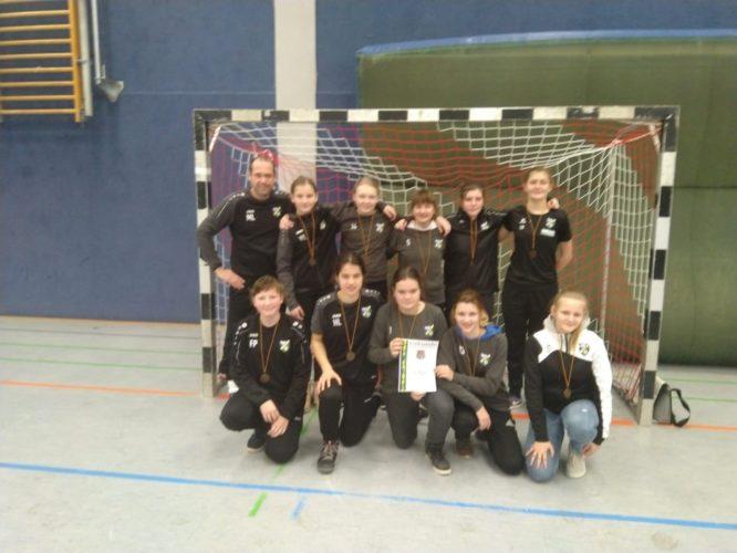 SpG Sängerstadt Mädchen mit 4. Platz beim FSV Kirchhain