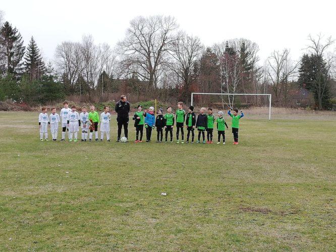 Auftakt der F-Junioren Rückrunde, Meisterrunde Staffel B