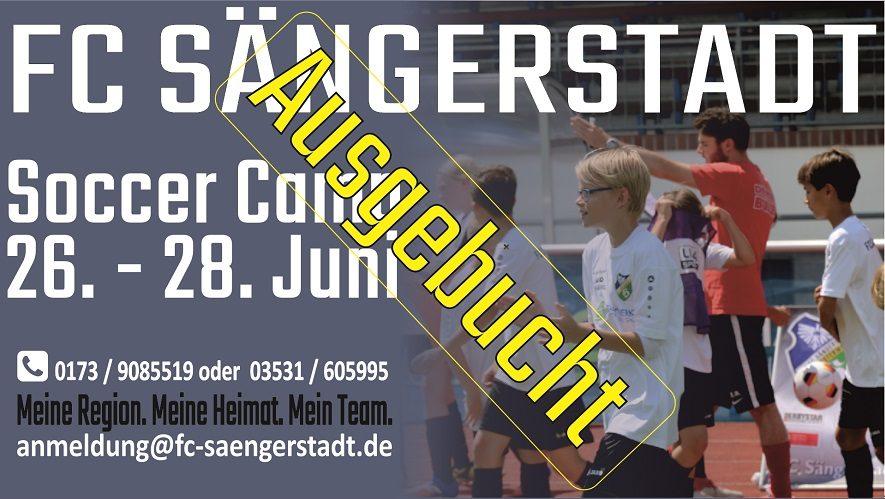 Soccer Camp 26. bis 28.06.19 mit RB Leipzig