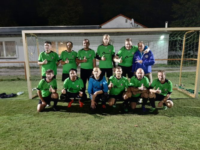 Altligamannschaft des FC Sängerstadt ist Herbstmeister