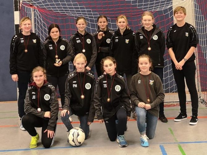 C-Junioren Turniersieger / D-Junioren 2., 4. & 6. Platz