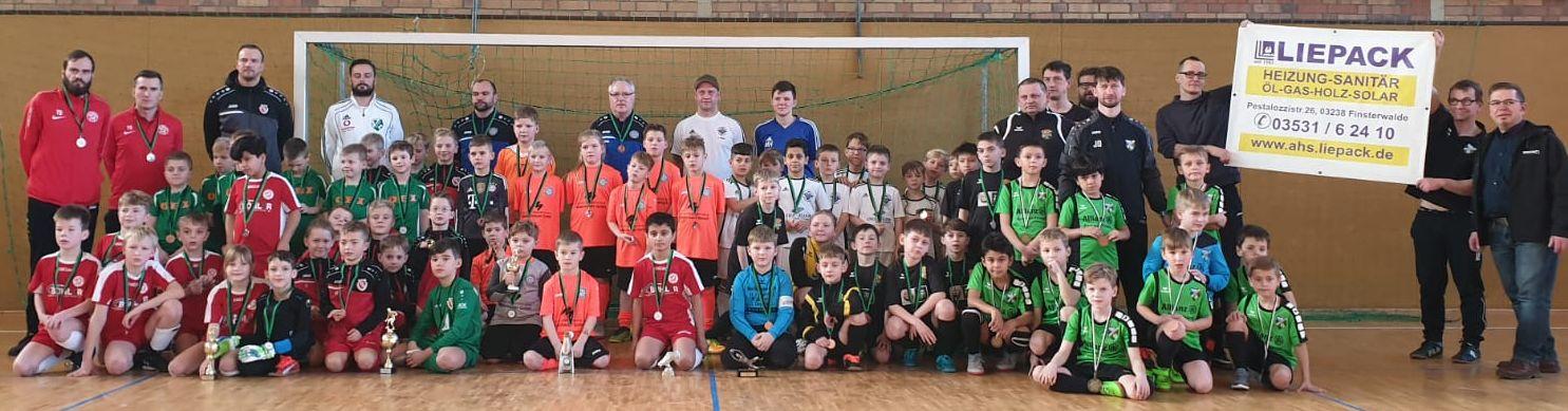 FC Energie Cottbus gewinnt den Liepack-Cup 2020 der F-Junioren