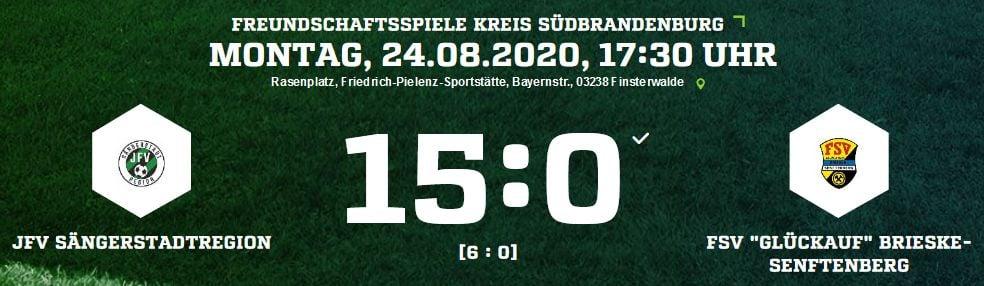 Testspiel gegen die F-Jun. des FSV Brieske Senftenberg