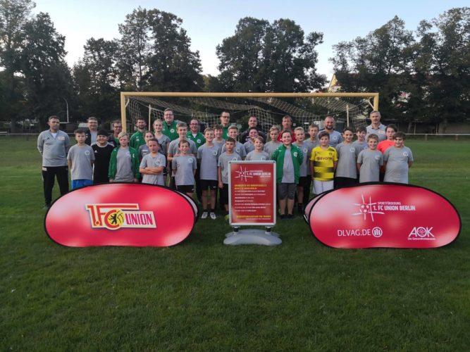 Der 1. FC Union Berlin beim JFV Sängerstadtregion