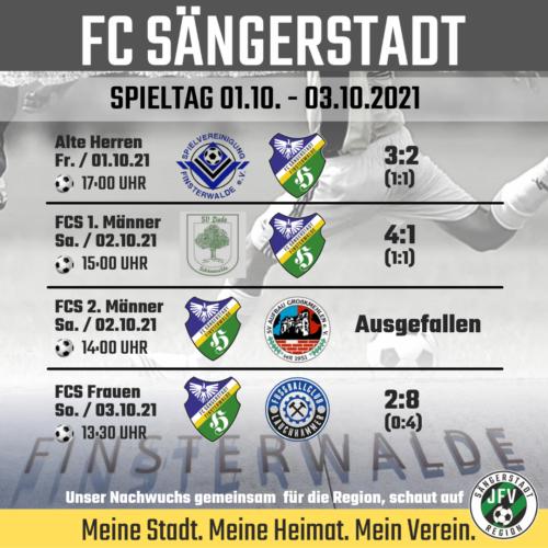 Keine Punkte beim FC Sängerstadt